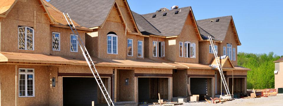 Construction de maison de ville en rangee a montreal for Construction de maison rurale