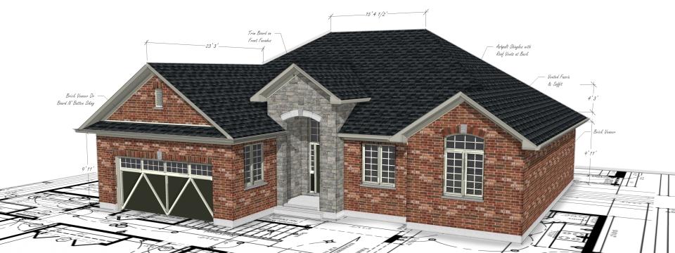 Plan construction maison neuve et projet immobilier - Economiser construction maison ...
