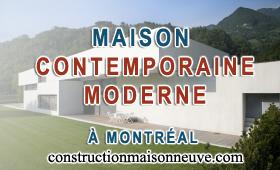Plan Design Construction de maison moderne contemporaine