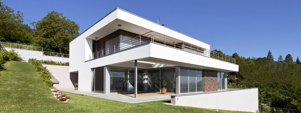 Accueil Bastea Plan Maison Cubique Toit Plat Etage Immobilier Pour